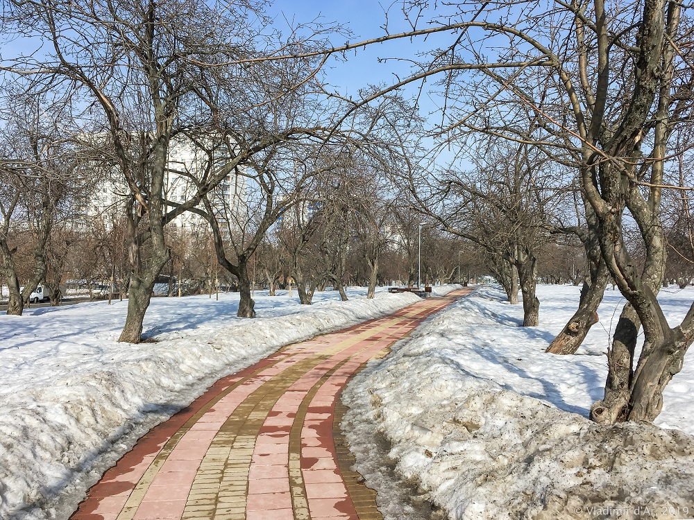 Москва - весна