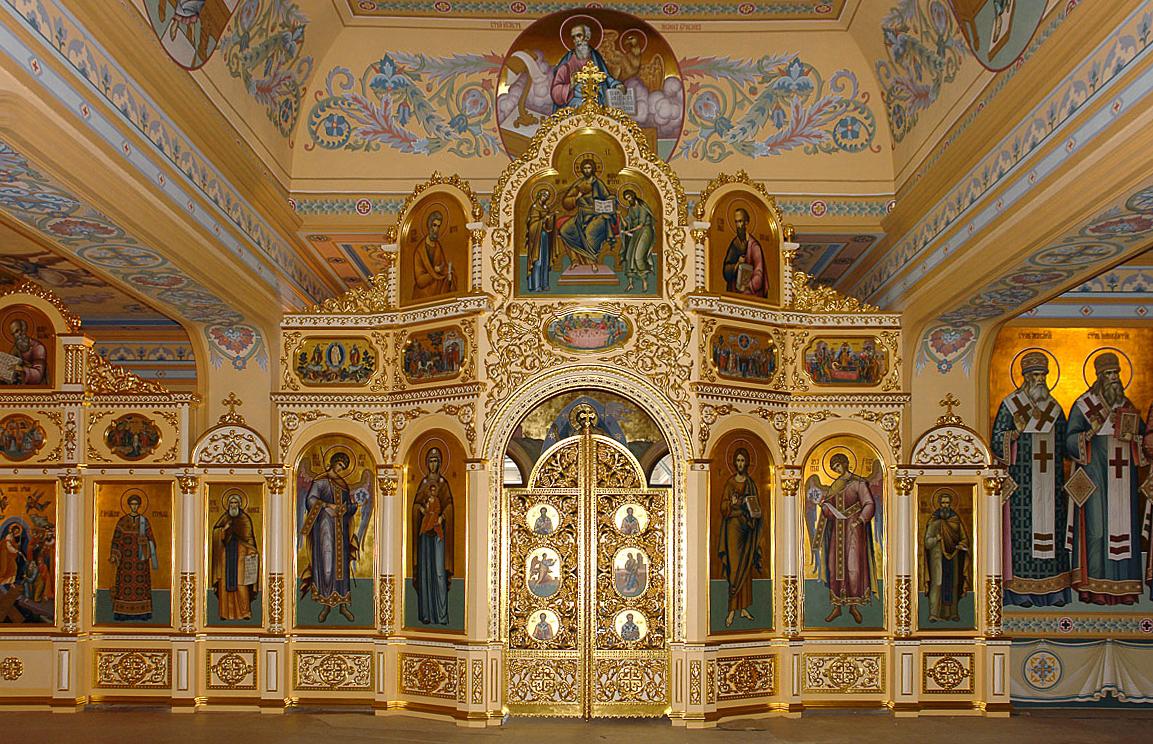 026 - Иконостас Домового храма в Митрополичих палатах