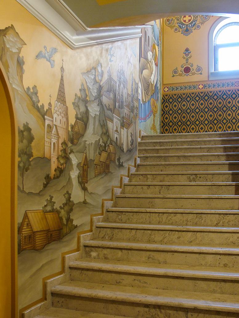035 - Фрески домового храма в Митрополичих палатах