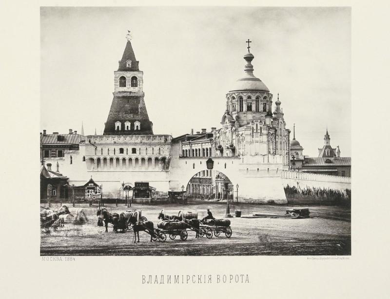 Владимирские ворота и Часовня святого Пантелеймона