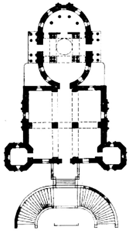 План Владимирской церкви
