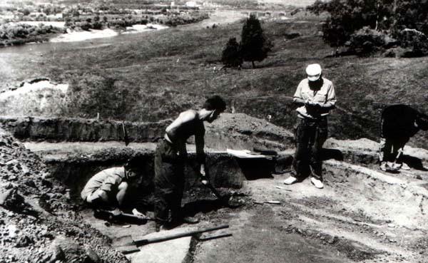 Раскопки на Сорочинском городище