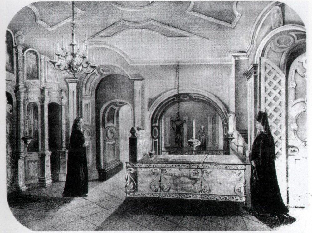 Гробница патриарха Никона