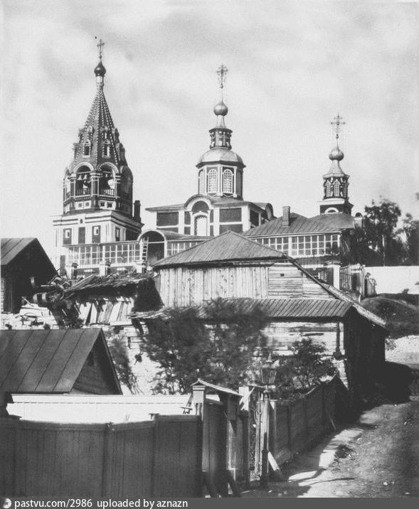 Церковь великомученика Никиты на Швивой горке - 1882 год