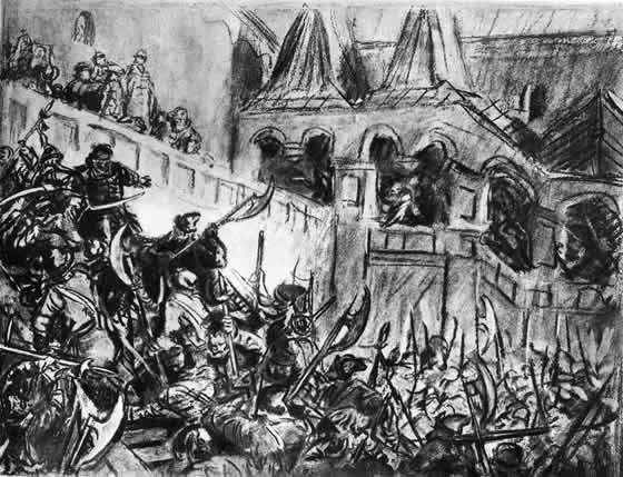 Стрелецкий бунт при Петре
