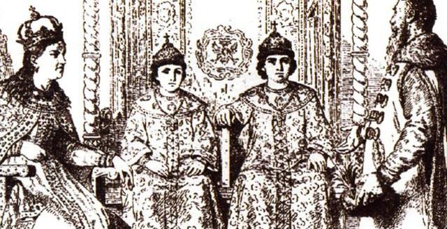 Коронация царя Петра