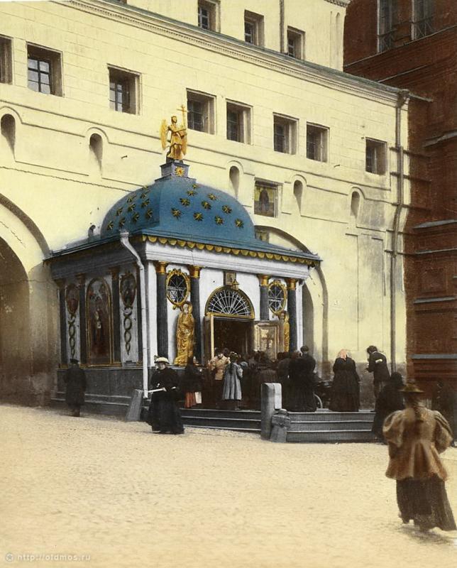 Иверская часовня на Красной площади