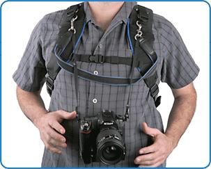 Фото поддержка (пристегивающийся ремень для камеры) с использованием D-колец