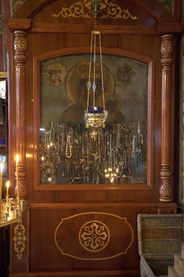 Икона Божьей Матери Черниговская-Гефсиманская