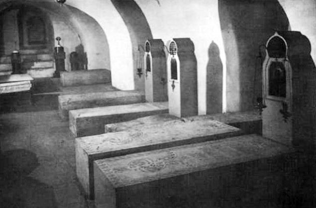 Усыпальница великого князя Сергея Александровича в Чудовом монастыре