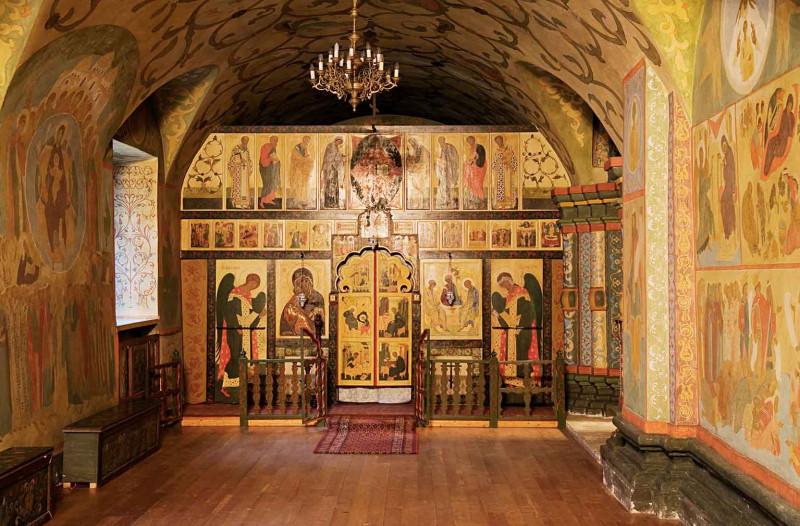 Собор Рождества Пресвятой Богородицы - Придел Сошествия Святого Духа