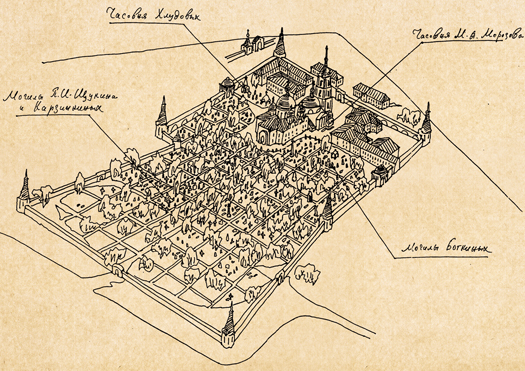 Некрополь Покровского монастыря