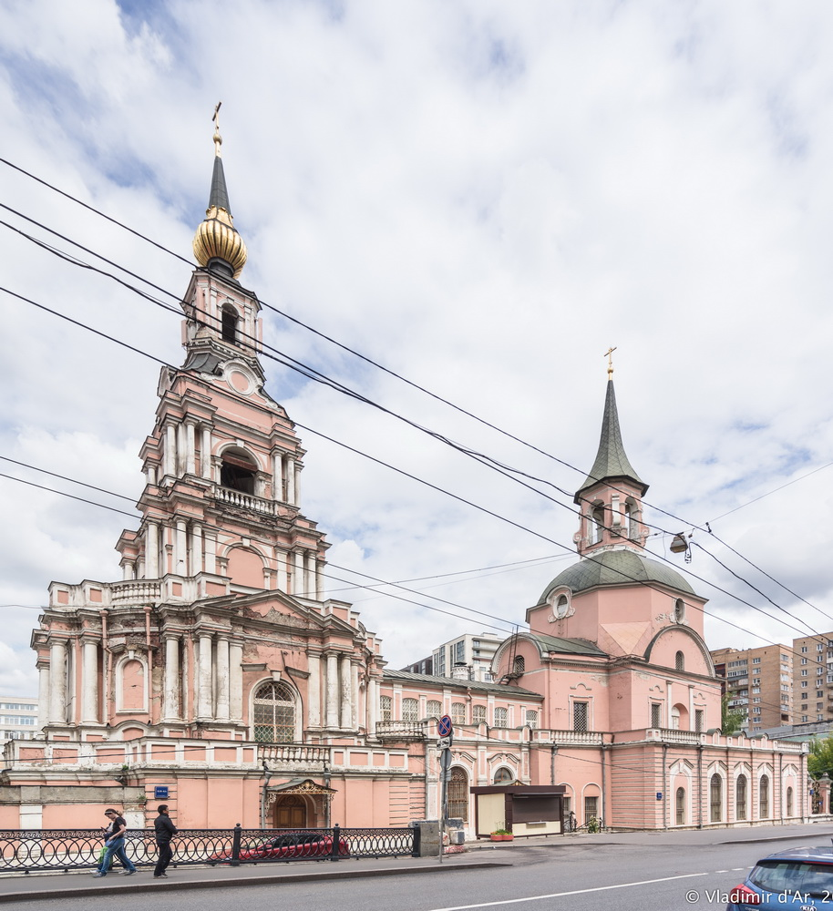 Петропавловская церковь на Новой Басманной