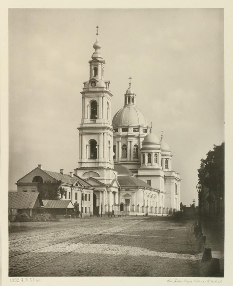Богоявленский собор в Елохове. 1882 г.