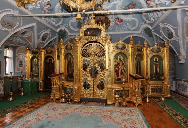 Интерьер Митрополичьих палат Троице-Сергиевой Лавры