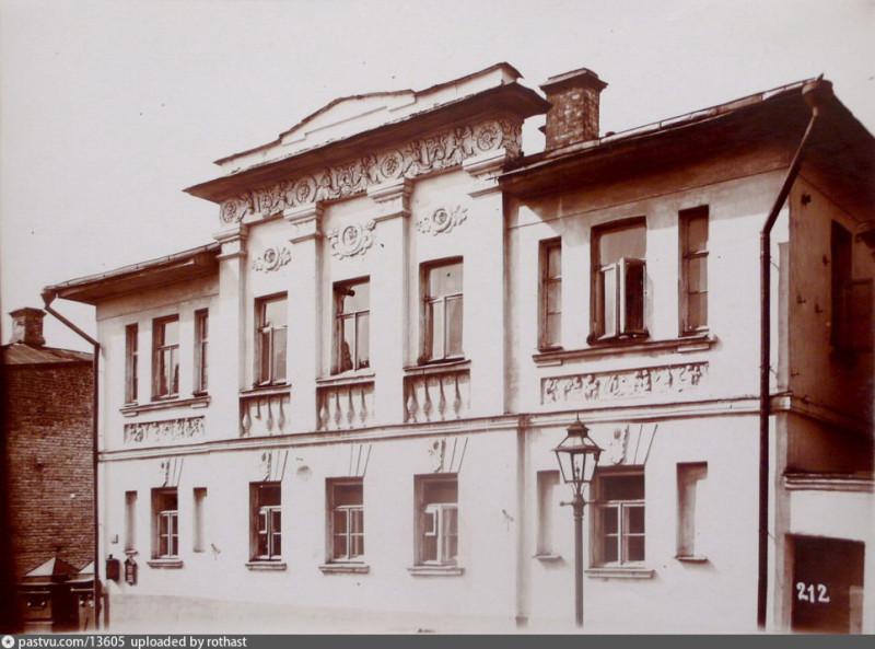 Особняк на участке №5 по Звонарскому перулку