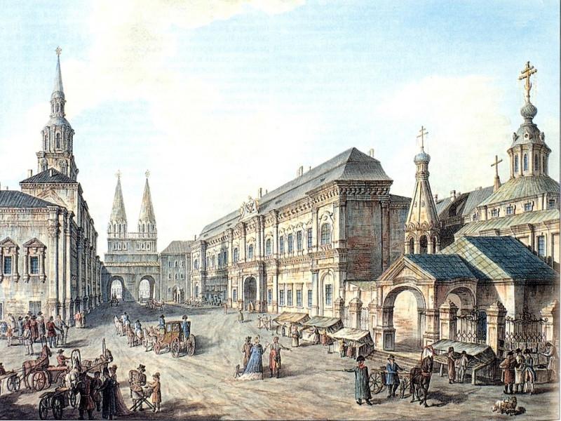 Старый монетный двор на Красной площади