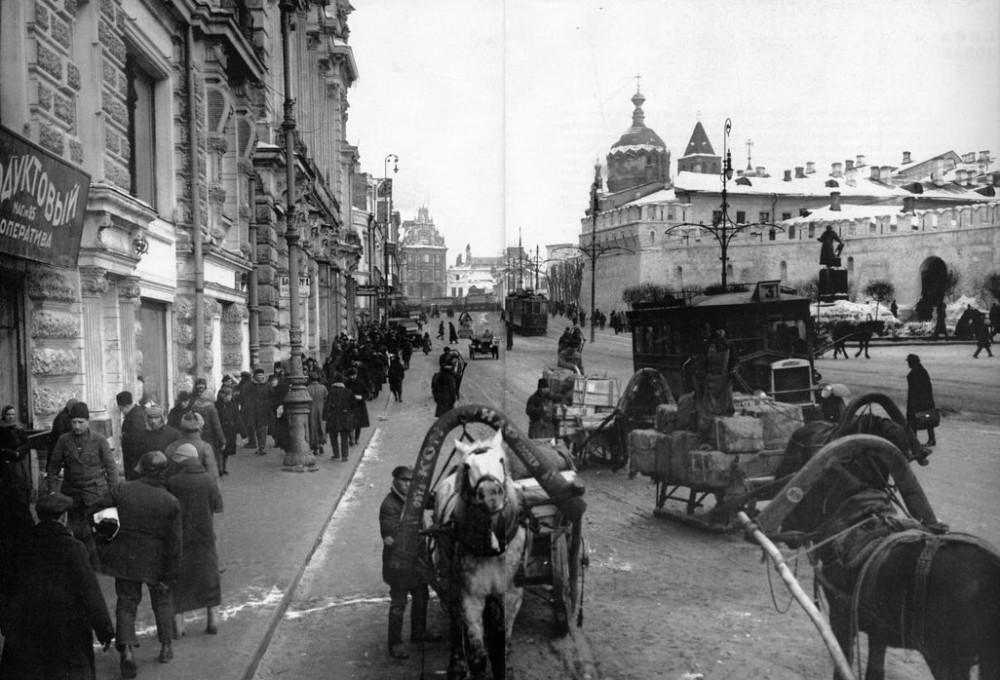 Театральный проезд. 1925-1930 гг.