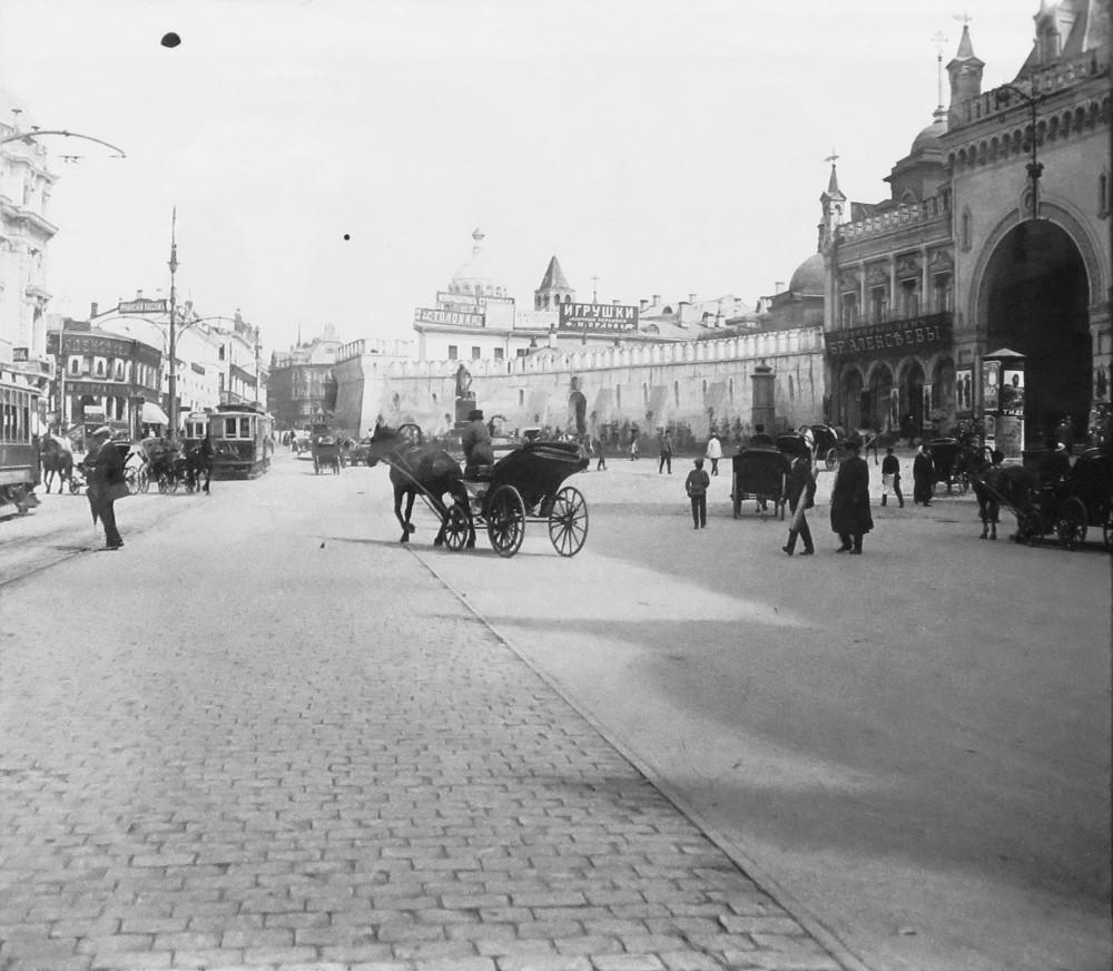 Театральный проезд. 1912 год.