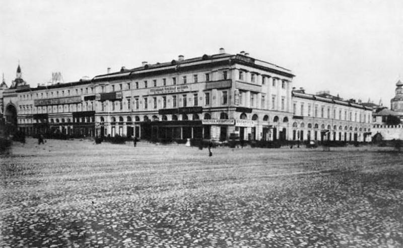 Гостиница Челышева. 1880 г.