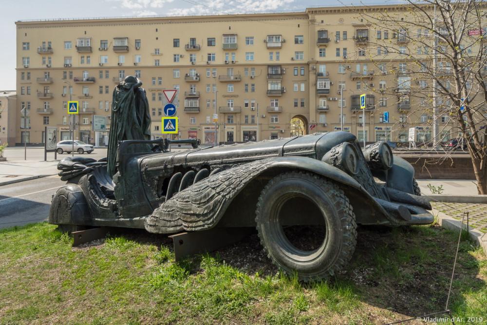 Автомобиль с грачом 1