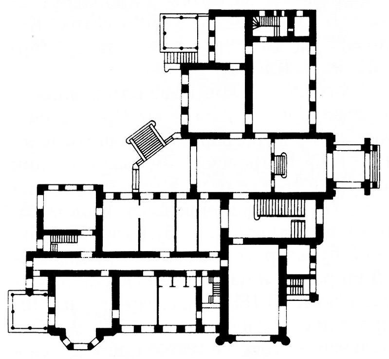 План особняка Морозова
