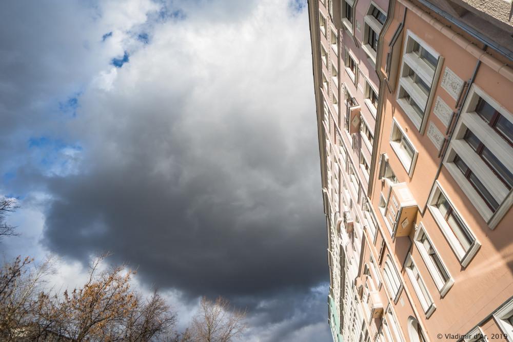 Старая Москва - осеннее небо