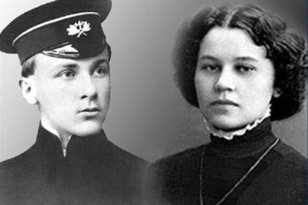 Михаил Булгаков и Татьяна Лаппа