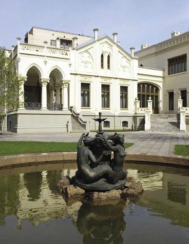 Фонтан во дворе Дома Саввы Морозова