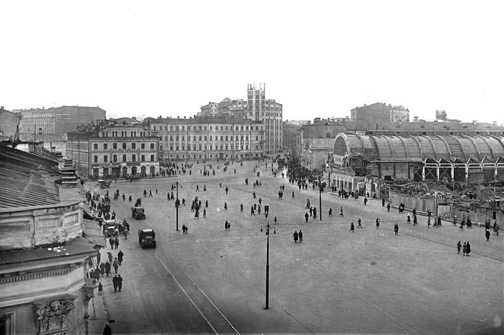 Арбатская площадь. 1934 год.