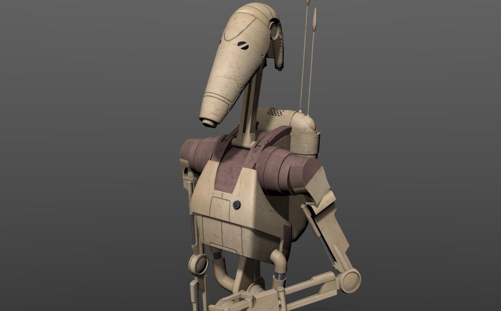 Военный дроид