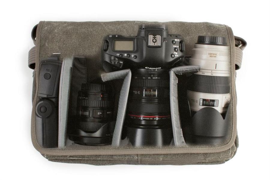 Размещение 70-200L в сумке Think Tank Photo Retrospective 30