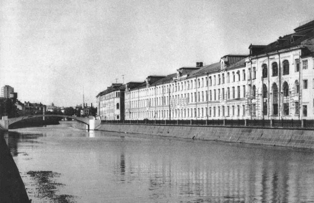 Суконно-камвольный комбинат на Садовнической наб - 1981 год