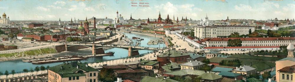 Вид Москвы со Швивой горки