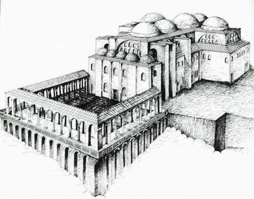 церковь святого Иоанна в Эфесе VI век