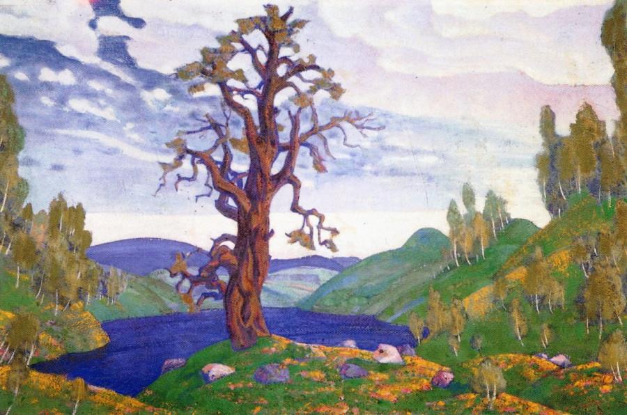 Священный дуб