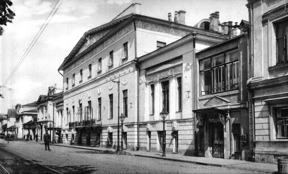 Дом градоначальника на Тверском бульваре