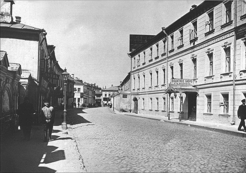 Кельи монастыря - 1914 год