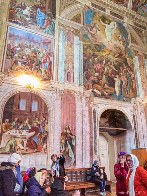 Спасо-Преображенский собор - фрески
