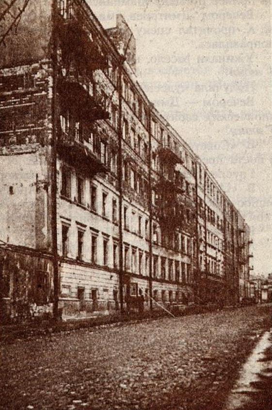 Дом Булгакова в Нащокинском переулке