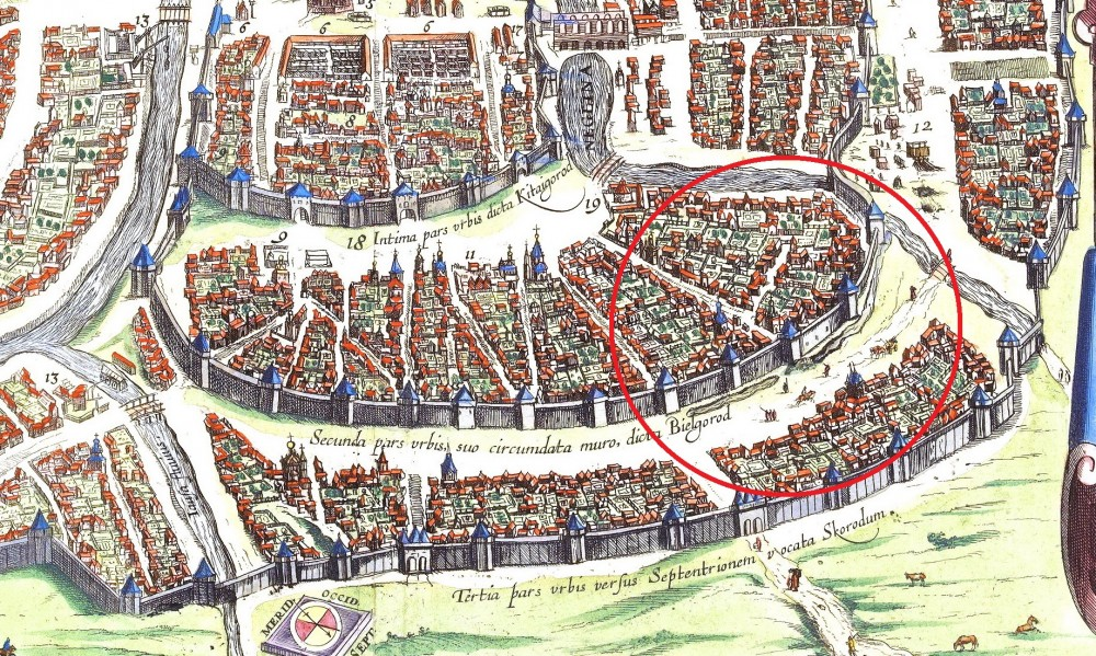 Москва - Сигизмундов план - 1610 год - Поганые пруды