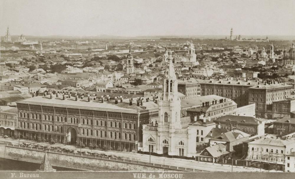 Вид на Москву. 1900 г.
