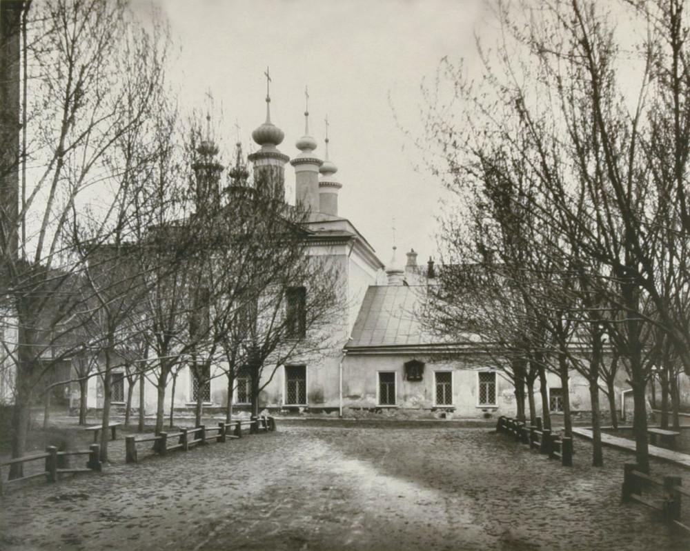 Церковь Софии Премудрости Божией на Софийской набережной. 1882 г.