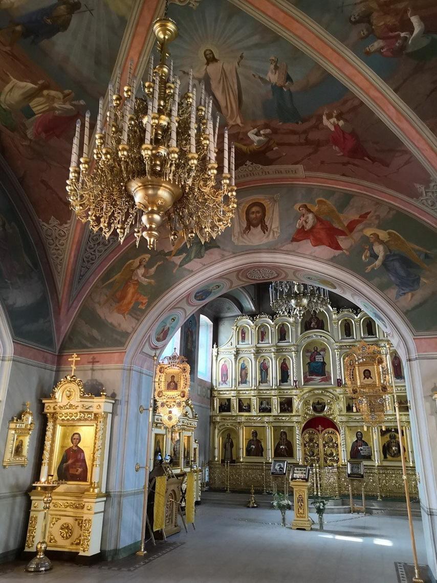 Интерьер Софийской церкви на Пушечной улице