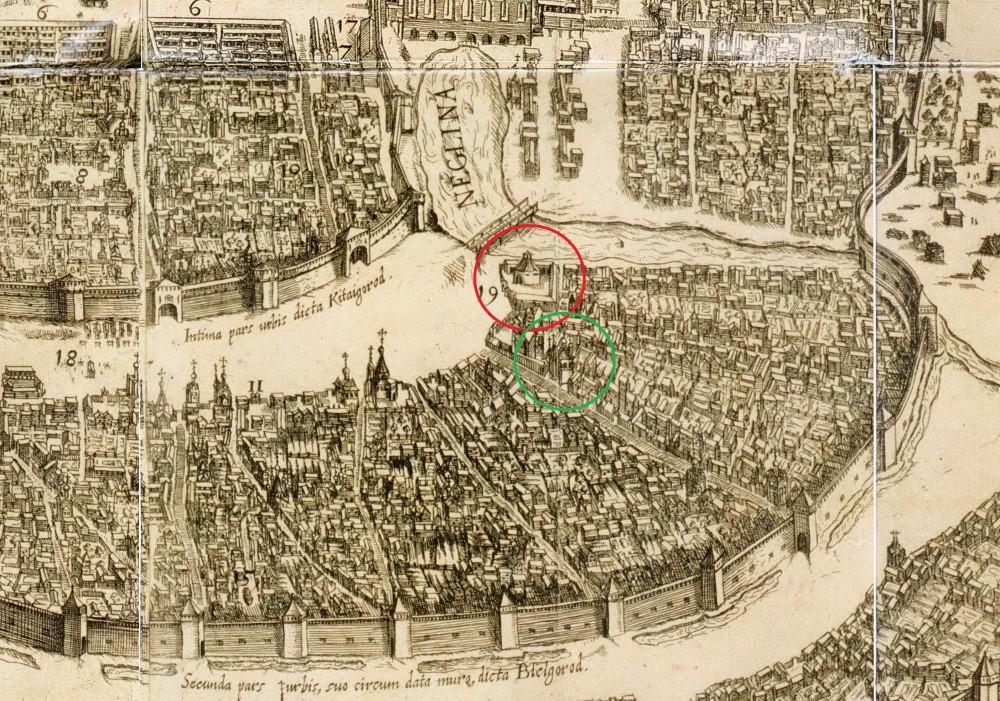 Сигизмундов план Москвы 1610 года