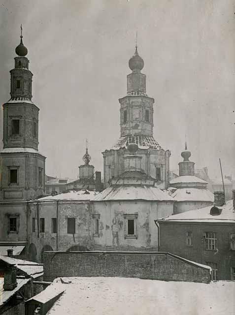 Церковь Воздвижения - 1930-1934 гг.