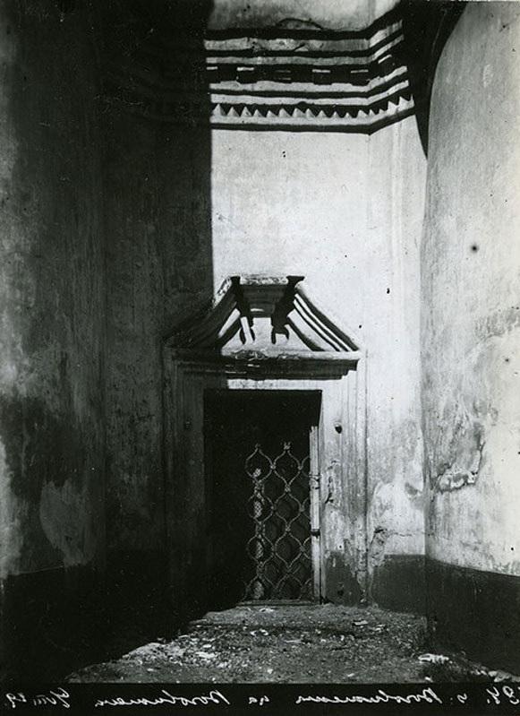 Воздвиженка. Наличник окна верхней церкви - 1929.jpg