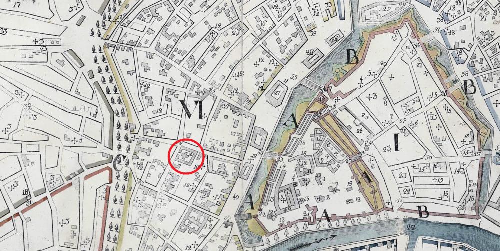 План Москвы Куртенера 1805 года - фрагмент.png