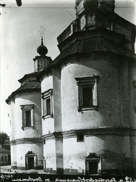 Церковь Воздвижения. Вид части храма с востока. Фото Н.Д. Виноградова 06.08.1929 г..jpg
