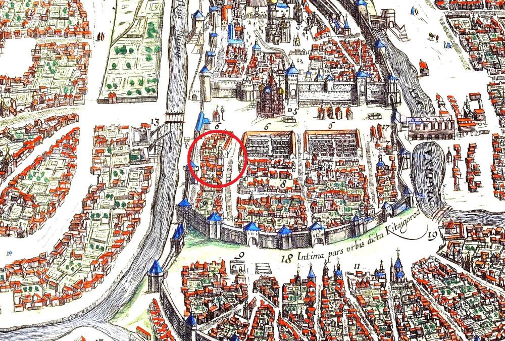 Сигизмундов план Москвы - 1610 год